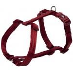 """Шлея """"TRIXIE"""" для собак """"Premium H-harness"""", бургунди"""