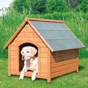 """Конура """"TRIXIE"""" для собаки с двускатной крышей"""