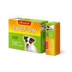 """Биокапли антипаразитарные на холку  Amstrel """"Spot-on"""" для щенков и собак мелких пород 1 флакон/2 мл"""