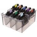 Набор металлических насадок Wahl 1247-7440 к машинкам для стрижки с ножами А5, 8 шт