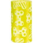 """Одноразовые пакеты, """"TRIXIE"""", для уборки за собаками с ароматом лимона, 4 рулона по 20 пакетов, M"""