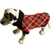 Свитер для собак Ami Play шотландская клетка